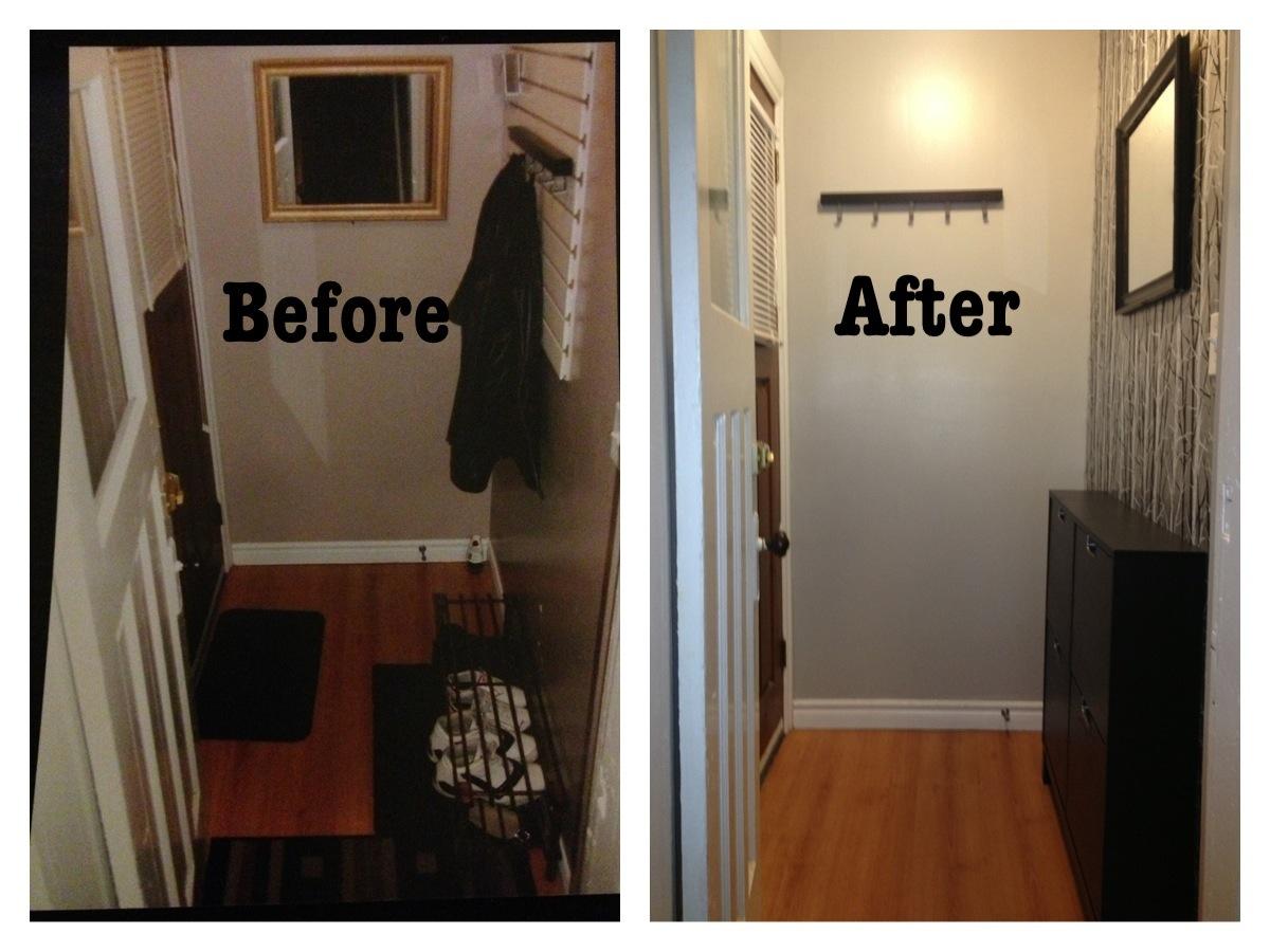 DIY StairwayEntryway Makeover Part Three Tashieka McTaggart