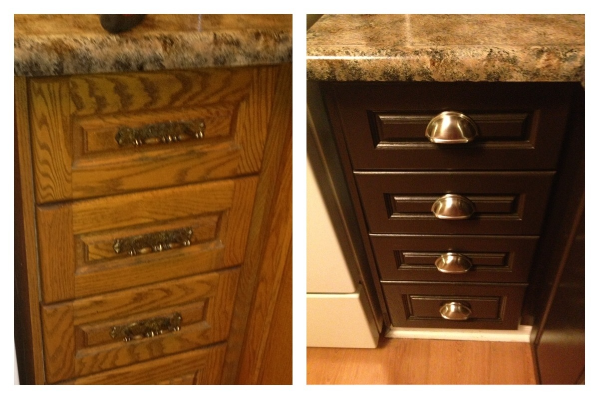 "Isn't the ""Cabinet Cup Pulls"" stunning?! To think the boyfriend"